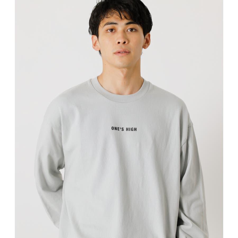 ONE'S HIGH LONG TEE/ワンズハイロングTシャツ 3