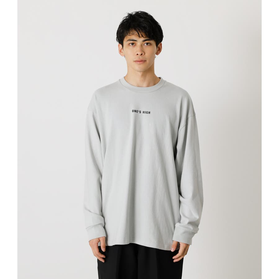 ONE'S HIGH LONG TEE/ワンズハイロングTシャツ 5