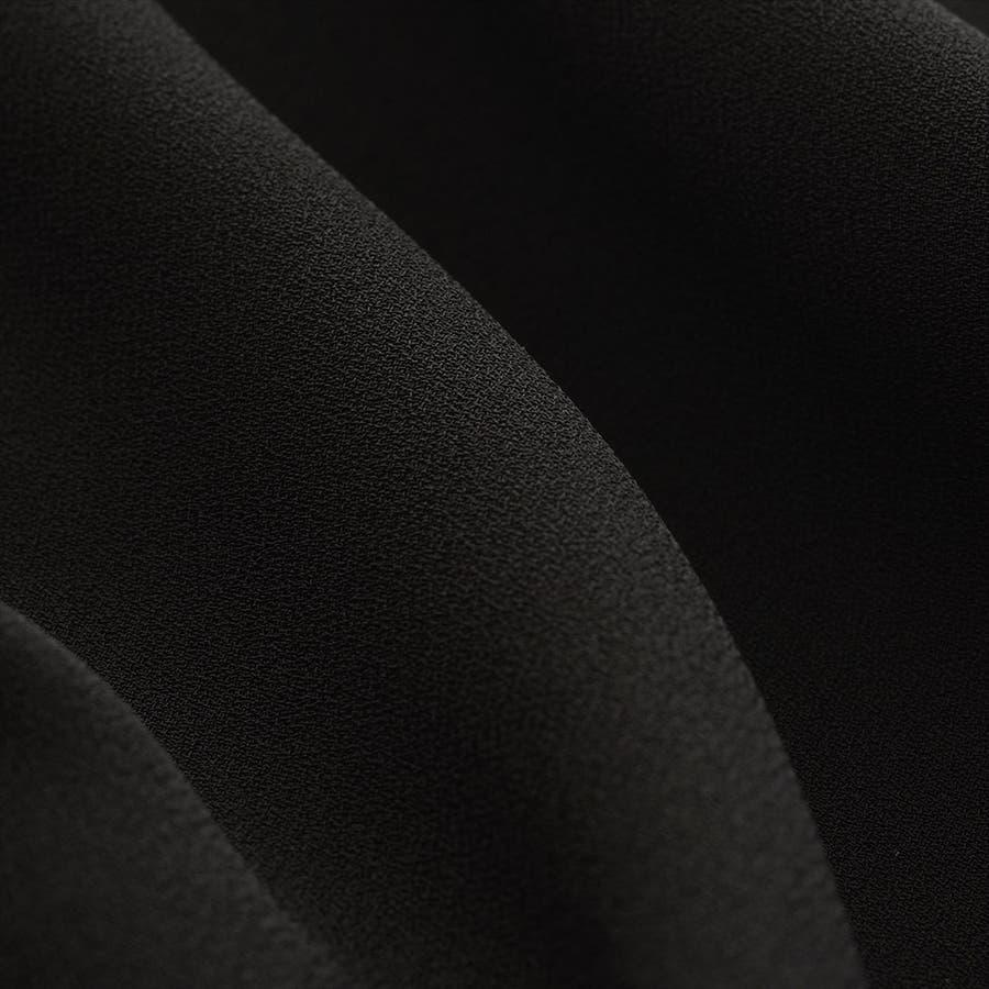 七分袖パフスリーブワンピース(110822608) 夏 ワンピース 喪服 レディース 礼服 冠婚葬祭 7