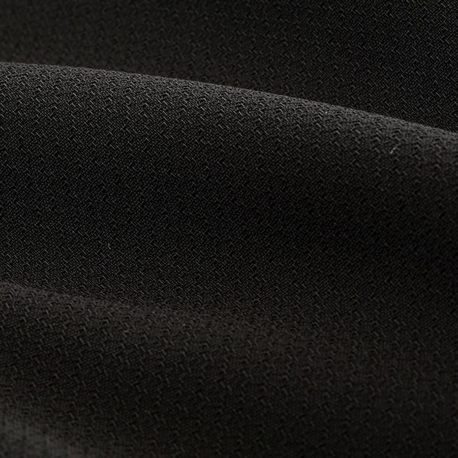 夏ウォッシャブル対応ラグラン袖のサマーフォーマルワンピース(110922602)ウエストベルト付 ゆったり着心地抜群 喪服 レディース 礼服 冠婚葬祭 家庭洗濯 7