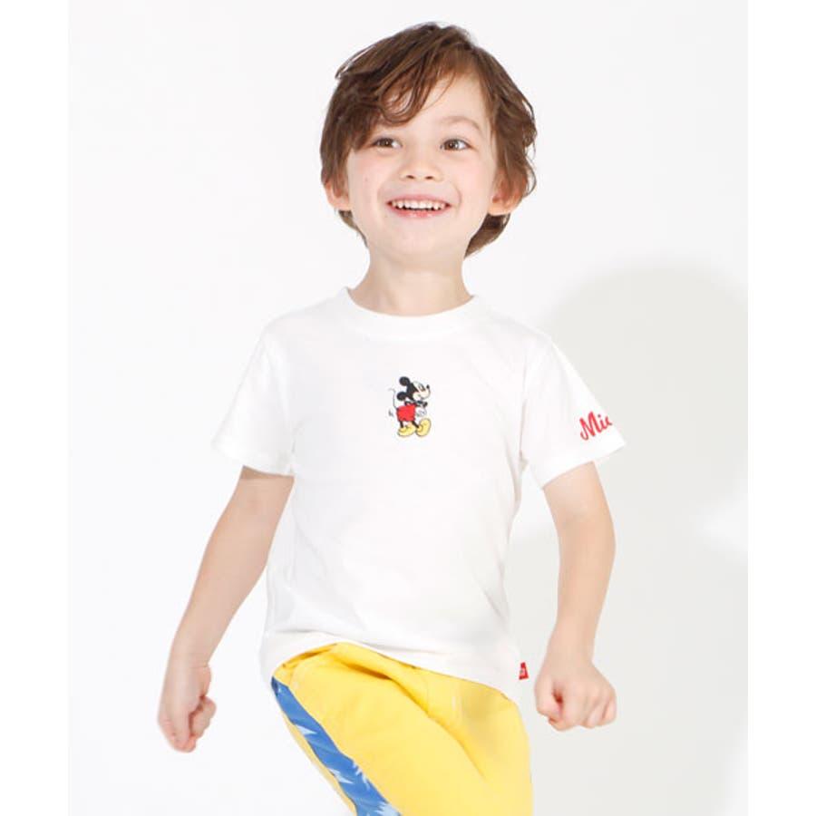 税抜990円 ディズニー ハッピープライス 刺繍Tシャツ 4204K 108