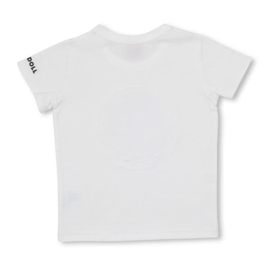 親子お揃い エンボスメッセージ Tシャツ 4028K ベビードール BABYDOLL 子供服 ベビー キッズ 男の子 女の子 10