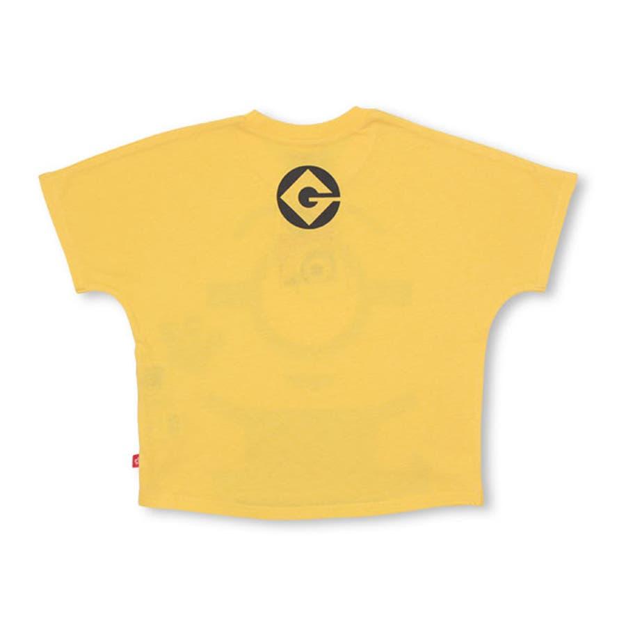 親子お揃い ミニオン BIGキャラクタードルマン Tシャツ 4168K ベビードール BABYDOLL 子供服 ベビー キッズ 男の子女の子 9