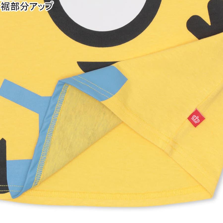 親子お揃い ミニオン BIGキャラクタードルマン Tシャツ 4168K ベビードール BABYDOLL 子供服 ベビー キッズ 男の子女の子 6