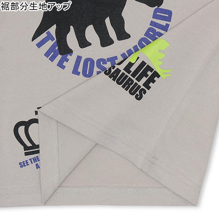 ランダム 恐竜 Tシャツ 4186K ベビードール BABYDOLL 子供服 ベビー キッズ 男の子 女の子 6