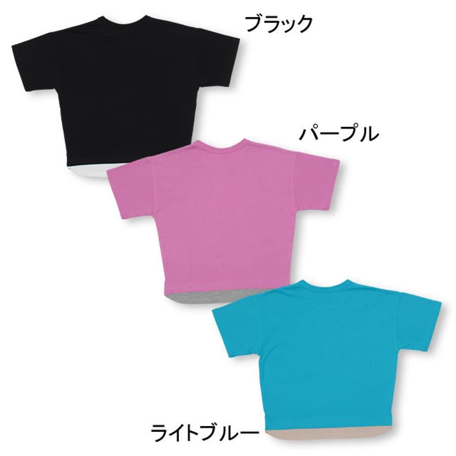 親子お揃い レイヤード Tシャツ 4187K ベビードール BABYDOLL 子供服 ベビー キッズ 男の子 女の子 4