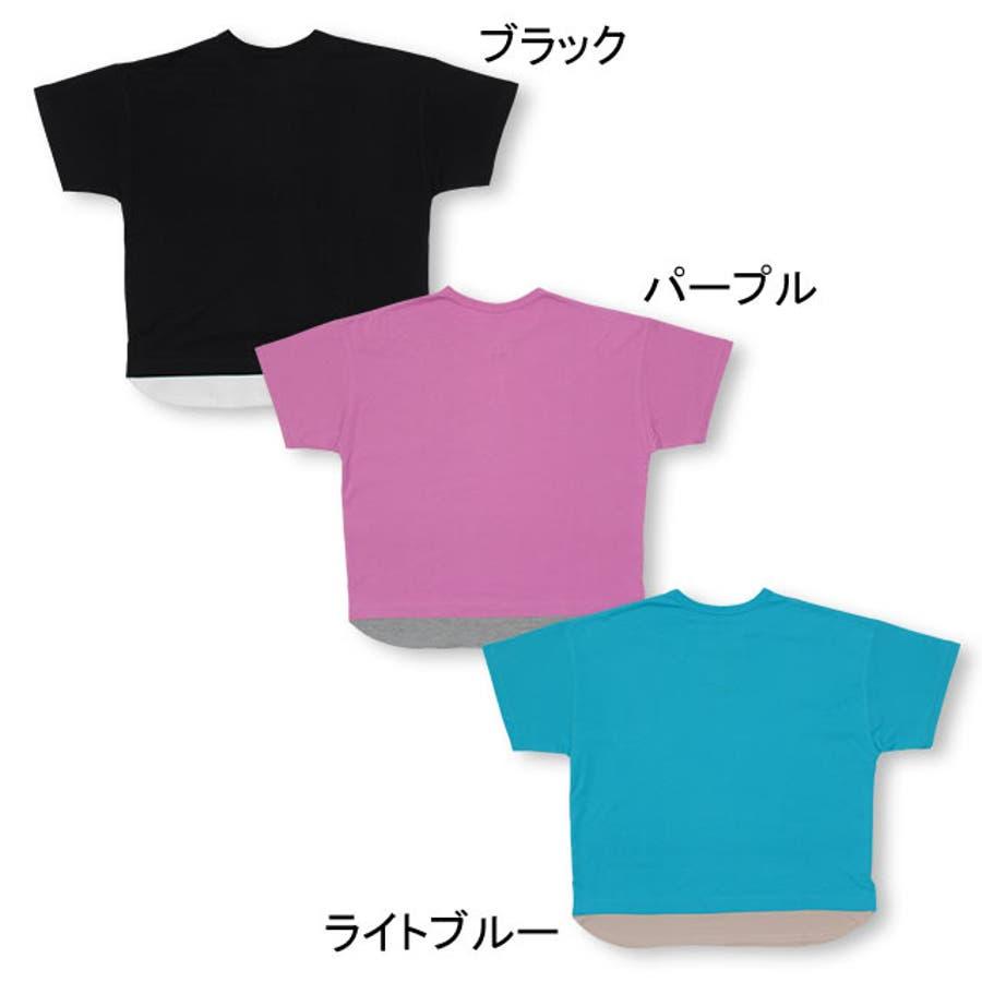 親子お揃い レイヤード Tシャツ 4187A ベビードール BABYDOLL 子供服 大人 ユニセックス 男女兼用 レディース メンズ 4
