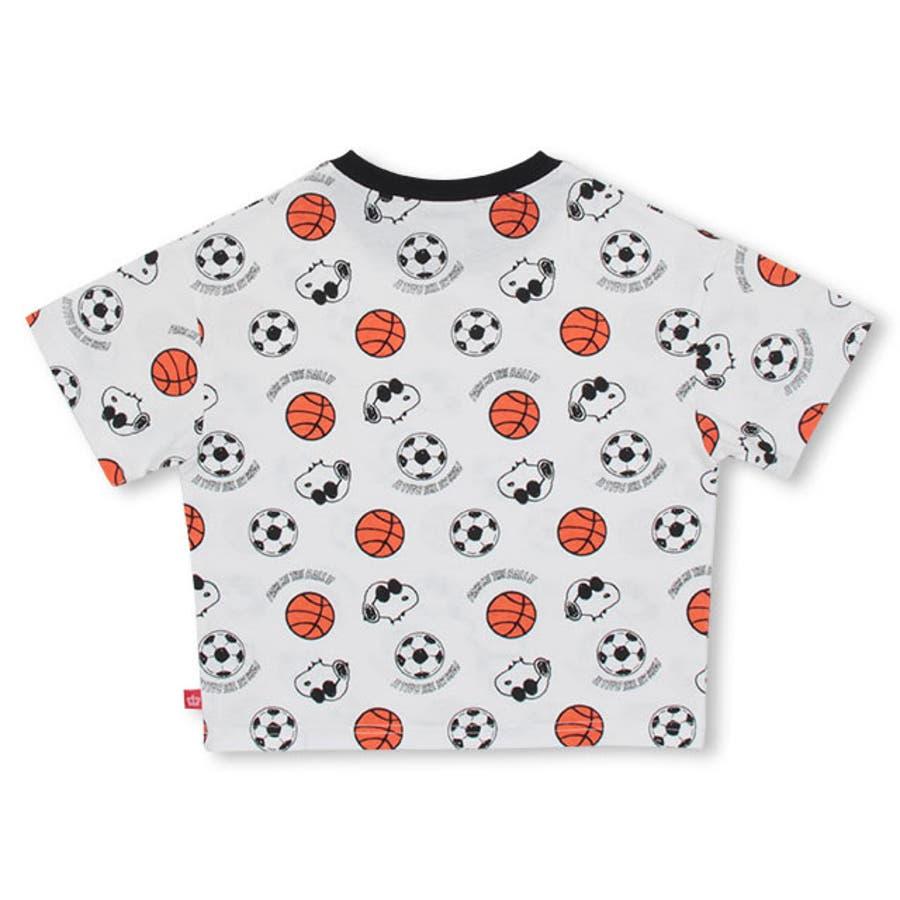 通販限定 スヌーピー スポーツ 総柄 Tシャツ 4231K ベビードール BABYDOLL 子供服 ベビー キッズ 男の子 女の子 9