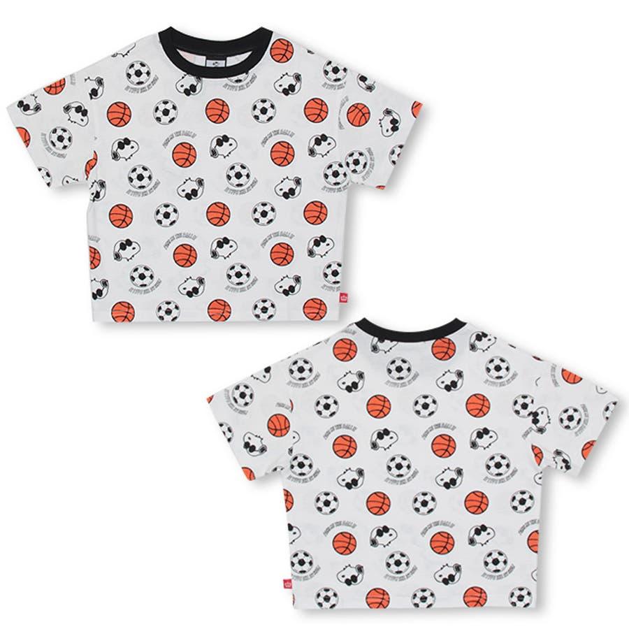 通販限定 スヌーピー スポーツ 総柄 Tシャツ 4231K ベビードール BABYDOLL 子供服 ベビー キッズ 男の子 女の子 3