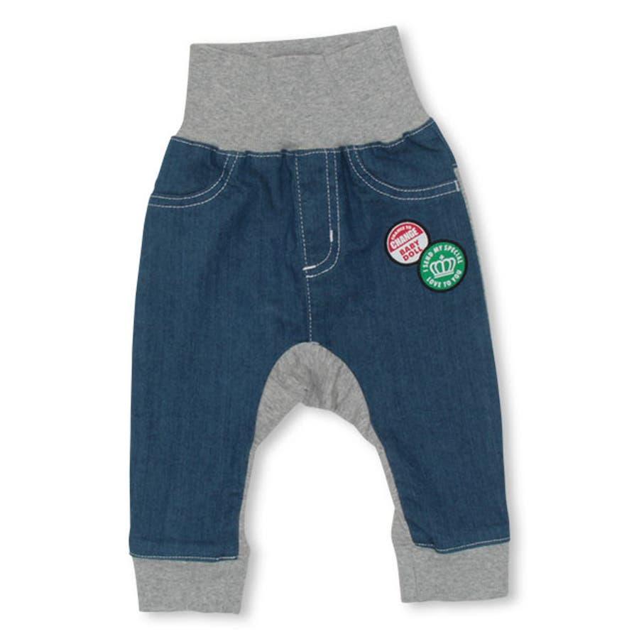 ベビー ロングパンツ 4316B ベビードール BABYDOLL 子供服 ベビー 男の子 女の子 108