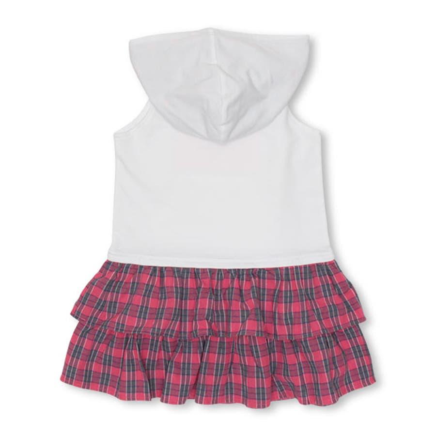 チェックフリル ワンピース 4425K ベビードール BABYDOLL 子供服 ベビー キッズ 男の子 女の子 10