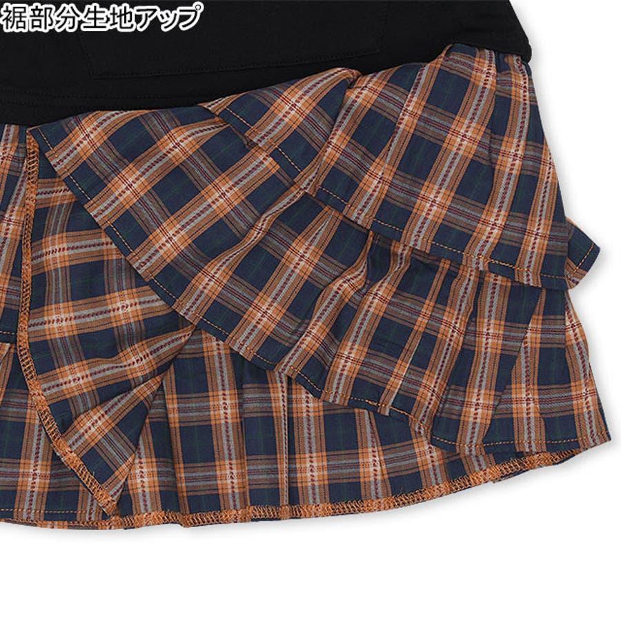 チェックフリル ワンピース 4425K ベビードール BABYDOLL 子供服 ベビー キッズ 男の子 女の子 6