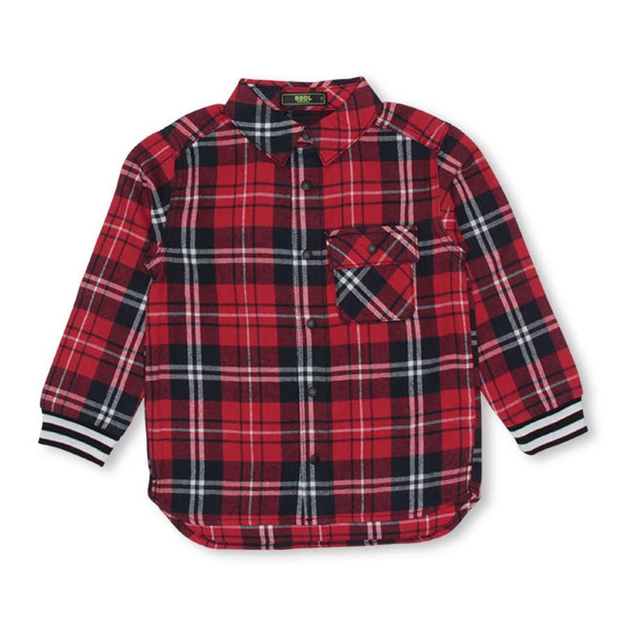 BBDL(ビー・ビー・ディー・エル) バックロゴチェック シャツ 4254K ベビードール BABYDOLL 子供服 ベビー キッズ男の子 女の子 8