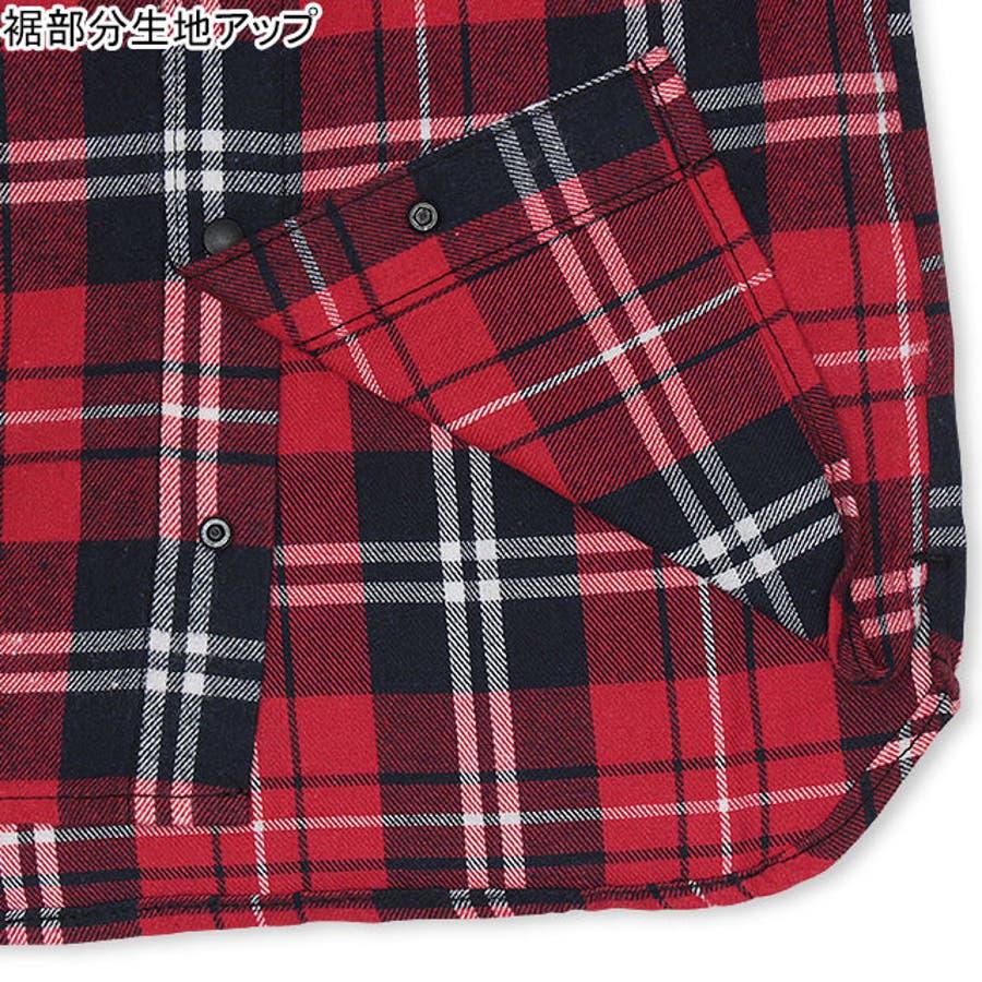BBDL(ビー・ビー・ディー・エル) バックロゴチェック シャツ 4254K ベビードール BABYDOLL 子供服 ベビー キッズ男の子 女の子 6