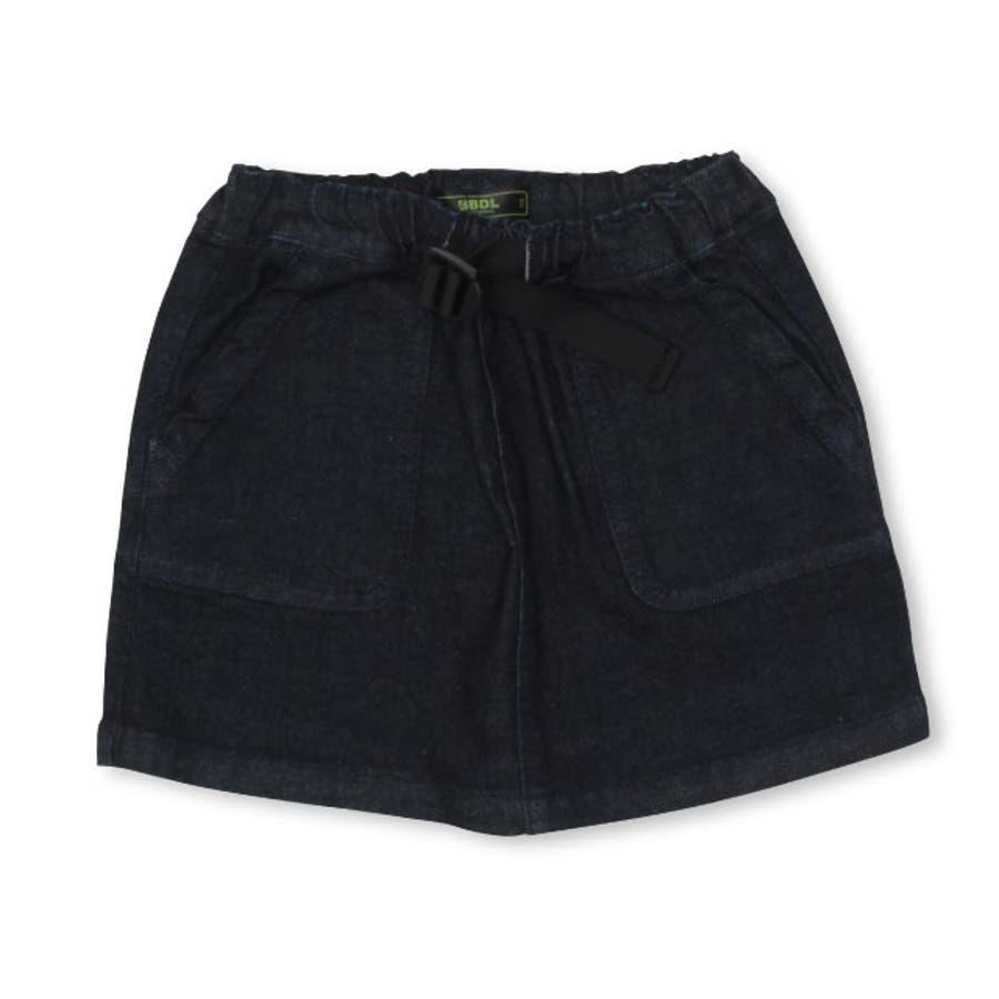BBDL(ビー・ビー・ディー・エル) ストレッチデニム スカート 4267K ベビードール BABYDOLL 子供服 ベビー キッズ男の子 女の子 108