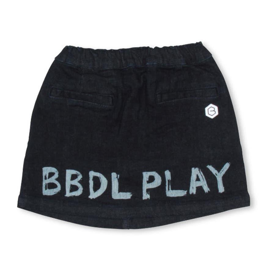 BBDL(ビー・ビー・ディー・エル) ストレッチデニム スカート 4267K ベビードール BABYDOLL 子供服 ベビー キッズ男の子 女の子 10