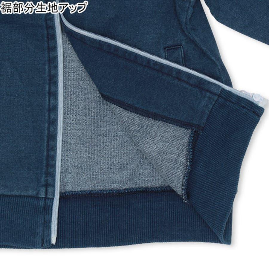 親子お揃い カラフルライン ジャケット4445K (ボトム別売) ベビードール BABYDOLL 子供服 ベビー キッズ 男の子女の子 6