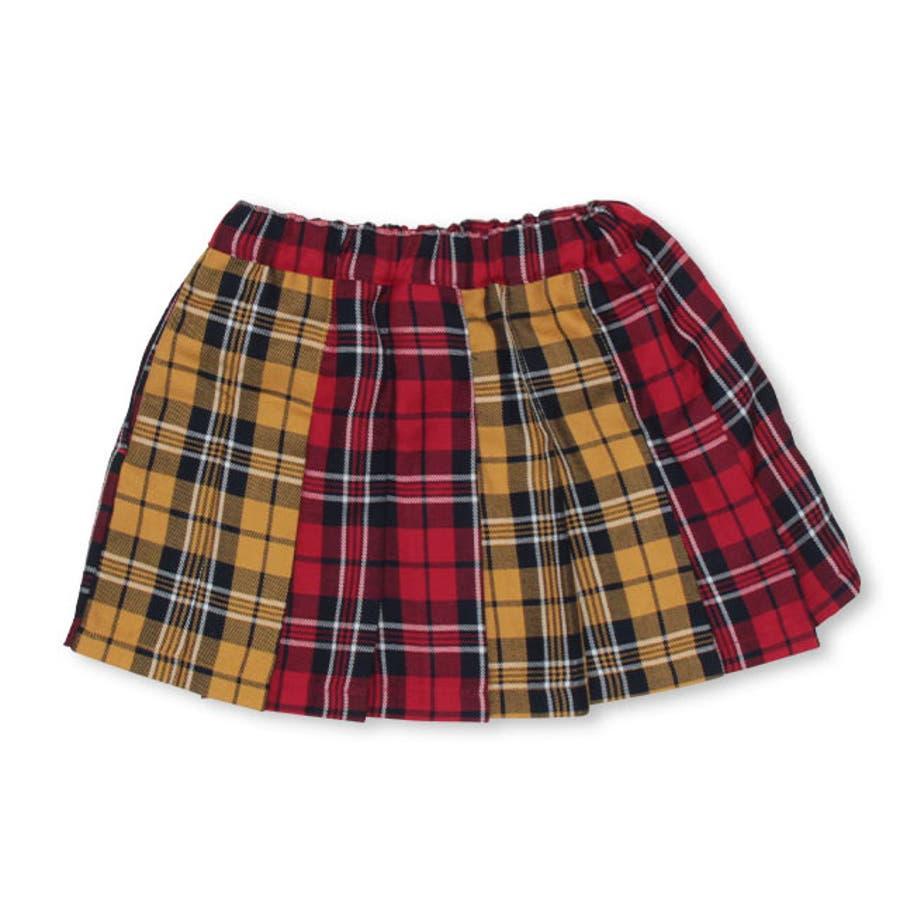 チェック スカート 4453K (トップス別売) ベビードール BABYDOLL 子供服 ベビー キッズ 女の子 9