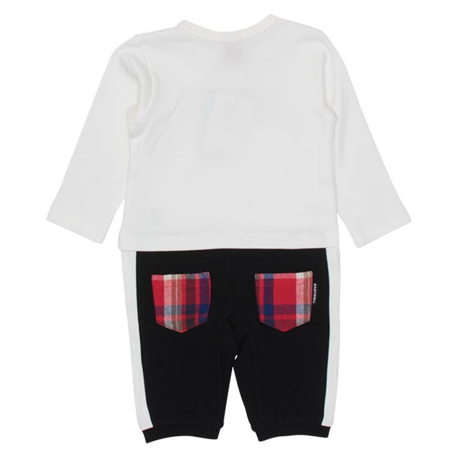 チェック ポケット ロンパース 4455B ベビードール BABYDOLL 子供服 ベビー 男の子 女の子 10