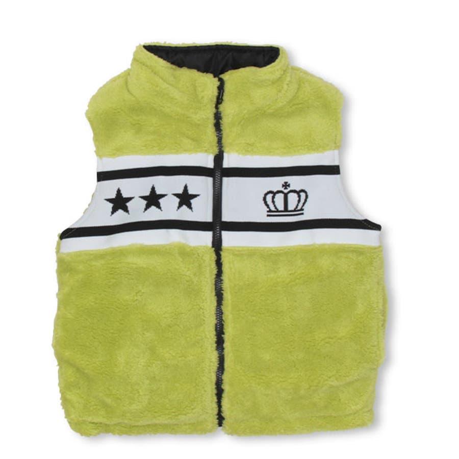 リバーシブル中綿ベスト4460K ベビードール BABYDOLL 子供服 ベビー キッズ 男の子 女の子 108