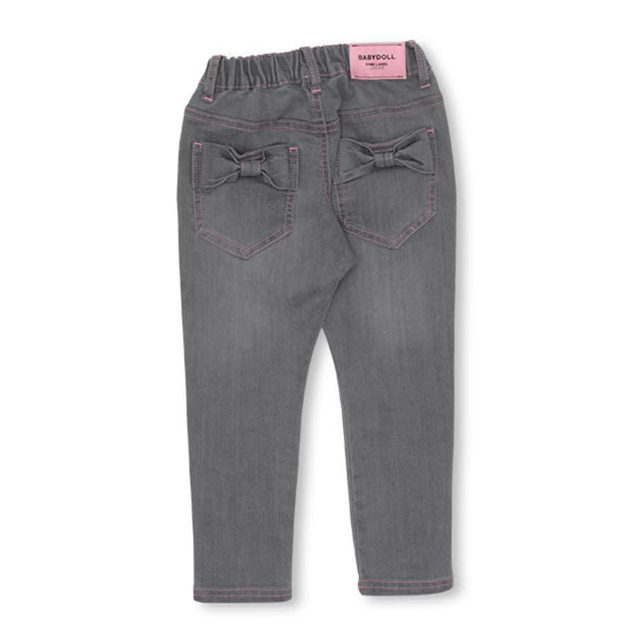 リボン ポケット デニム ロングパンツ 4529K ベビードール BABYDOLL 子供服 ベビー キッズ 男の子 女の子 10