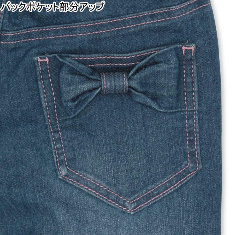 リボン ポケット デニム ロングパンツ 4529K ベビードール BABYDOLL 子供服 ベビー キッズ 男の子 女の子 7
