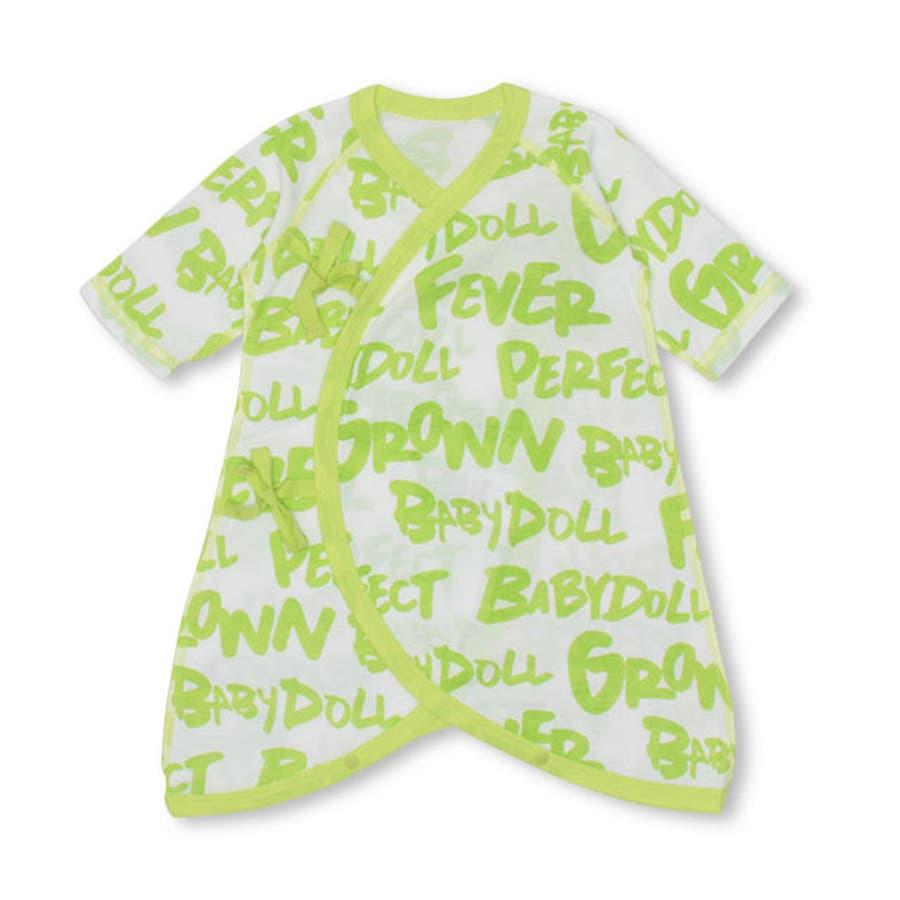 コンビ肌着 4611B ベビードール BABYDOLL 子供服 ベビー キッズ 男の子 女の子 108