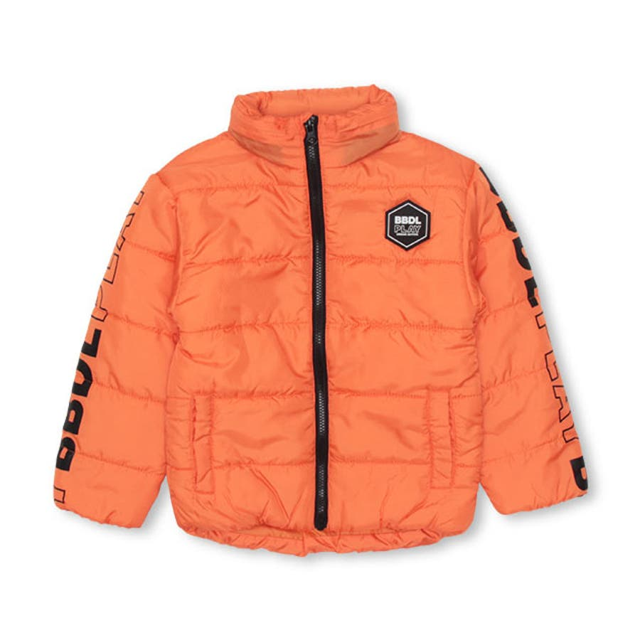 BBDL(ビー・ビー・ディー・エル) ラインロゴ 中綿アウター 4279K ベビードール BABYDOLL 子供服ベビー キッズ男の子 女の子 108