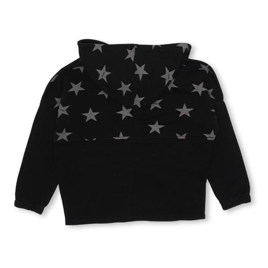 BBDL(ビー・ビー・ディー・エル) 星柄 ジップパーカー 4399K (ボトム別売) ベビードール BABYDOLL 子供服 キッズ男の子 女の子 10