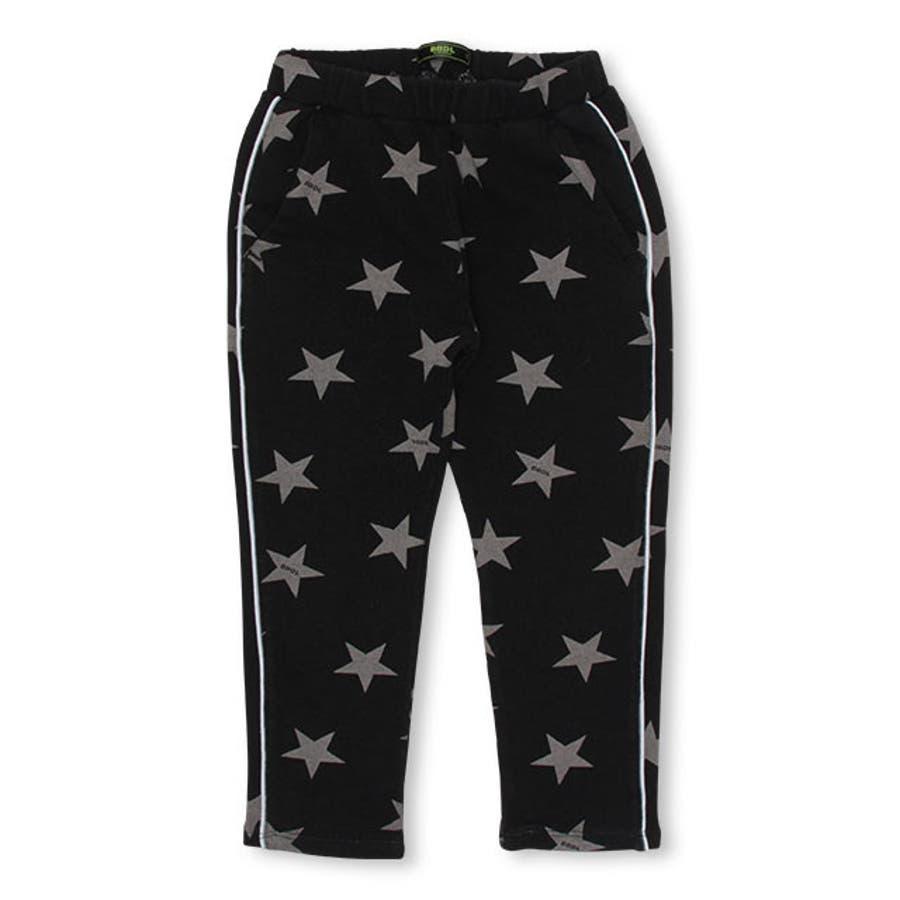 BBDL(ビー・ビー・ディー・エル) 星柄 ストレッチ デニム ロングパンツ4400K (トップス別売) ベビードールBABYDOLL 子供服 キッズ 男の子 女の子 108