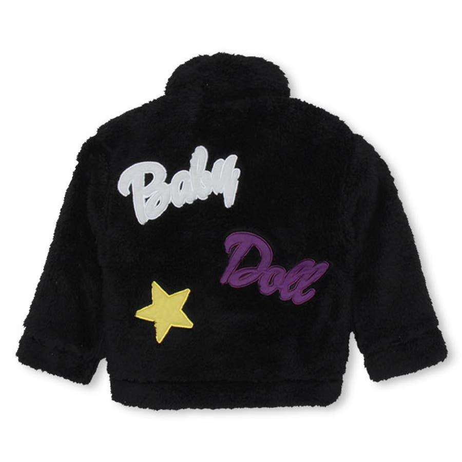 ワッペンシャツ アウター 4542K ベビードール BABYDOLL 子供服ベビー キッズ 女の子 10
