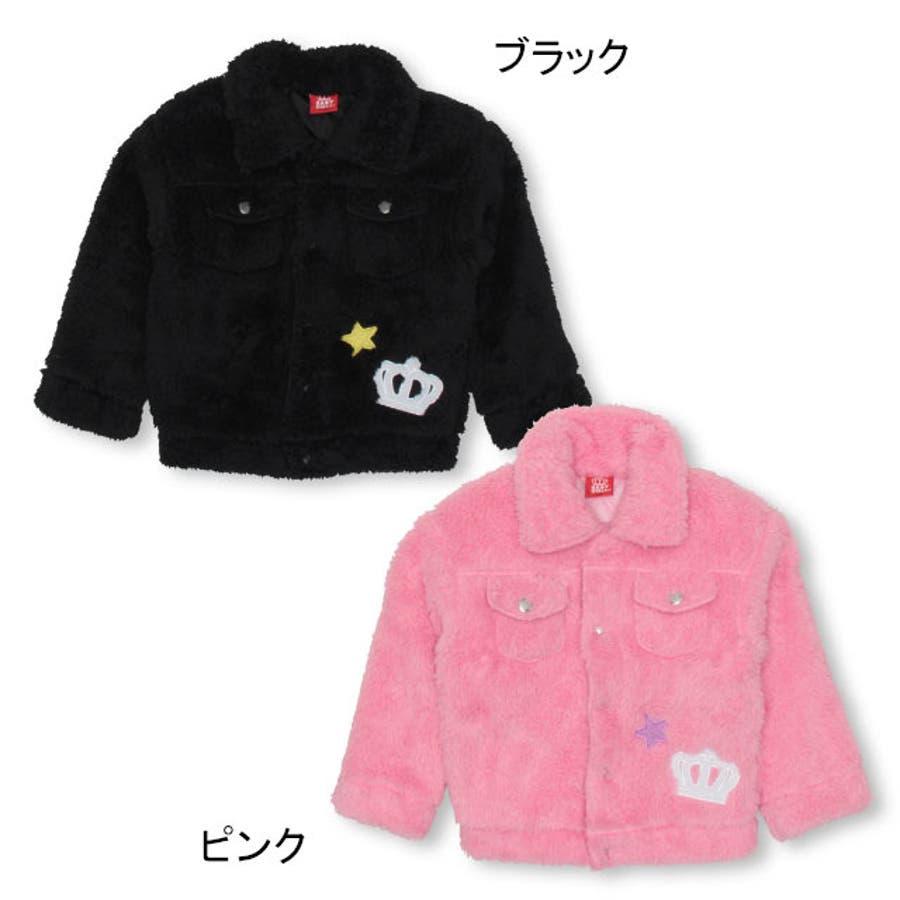 ワッペンシャツ アウター 4542K ベビードール BABYDOLL 子供服ベビー キッズ 女の子 3