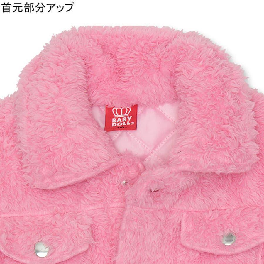 ワッペンシャツ アウター 4542K ベビードール BABYDOLL 子供服ベビー キッズ 女の子 5