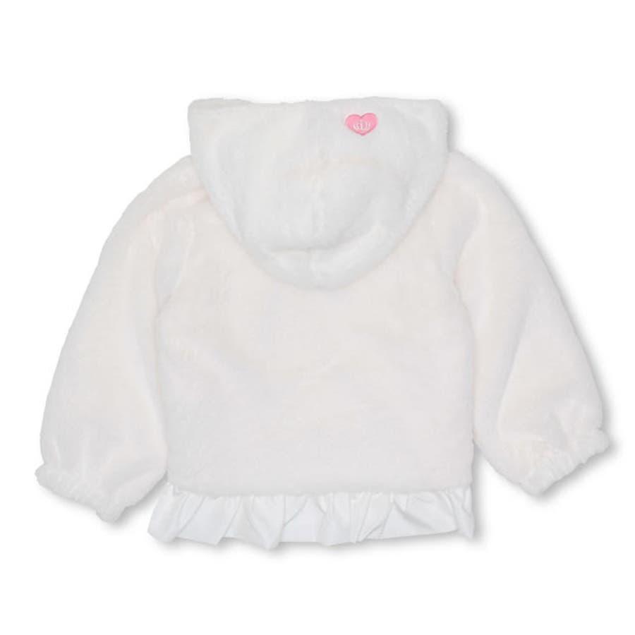 裾フリルボア アウター ジップアップパーカー 4543K ベビードール BABYDOLL 子供服 ベビー キッズ 女の子 10