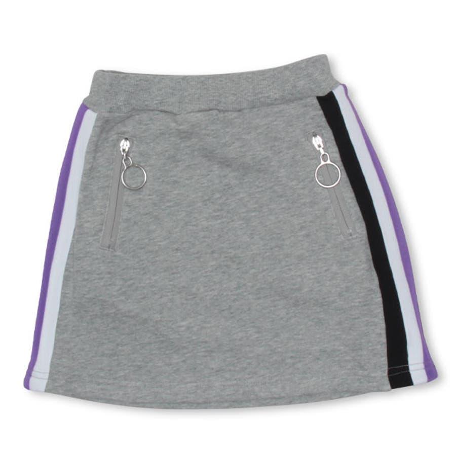 BBDL(ビー・ビー・ディー・エル) ロゴライン スカート 4562K ベビードール BABYDOLL 子供服 ベビー キッズ 男の子女の子 108