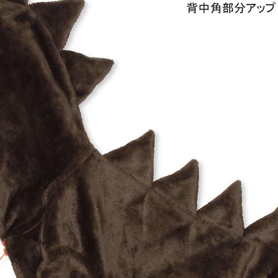恐竜 ジップパーカー 4565K ベビードール BABYDOLL 子供服ベビー キッズ 男の子 女の子 7