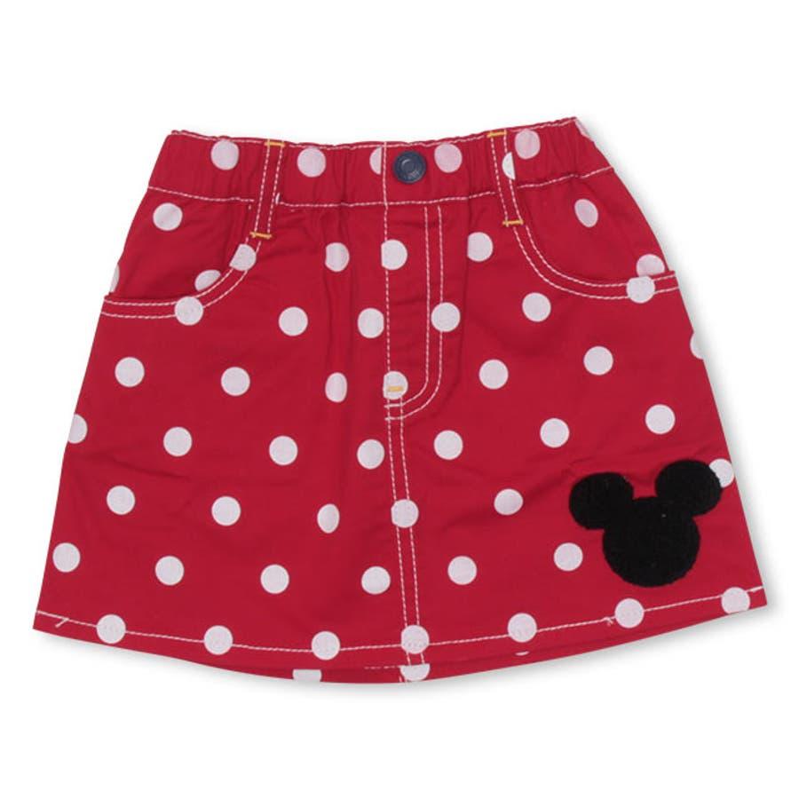 ディズニー ドット スカート 108