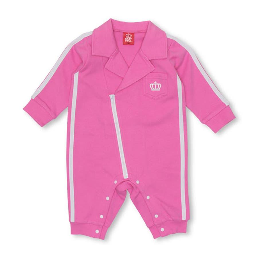 ライダース ロンパース 4666B ベビードール BABYDOLL 子供服 ベビー 男の子 女の子 108