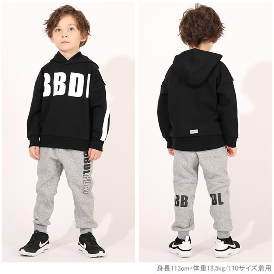 BBDL BIGロゴ パーカー 2