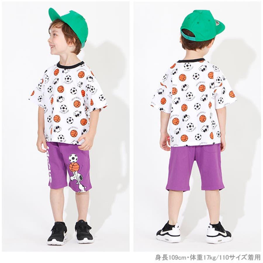 通販限定 スヌーピー スポーツ 総柄 Tシャツ 4231K ベビードール BABYDOLL 子供服 ベビー キッズ 男の子 女の子 2