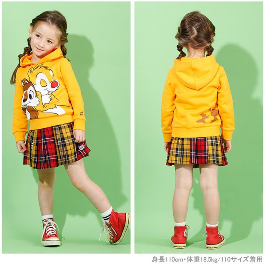 チェック スカート 4453K (トップス別売) ベビードール BABYDOLL 子供服 ベビー キッズ 女の子 2