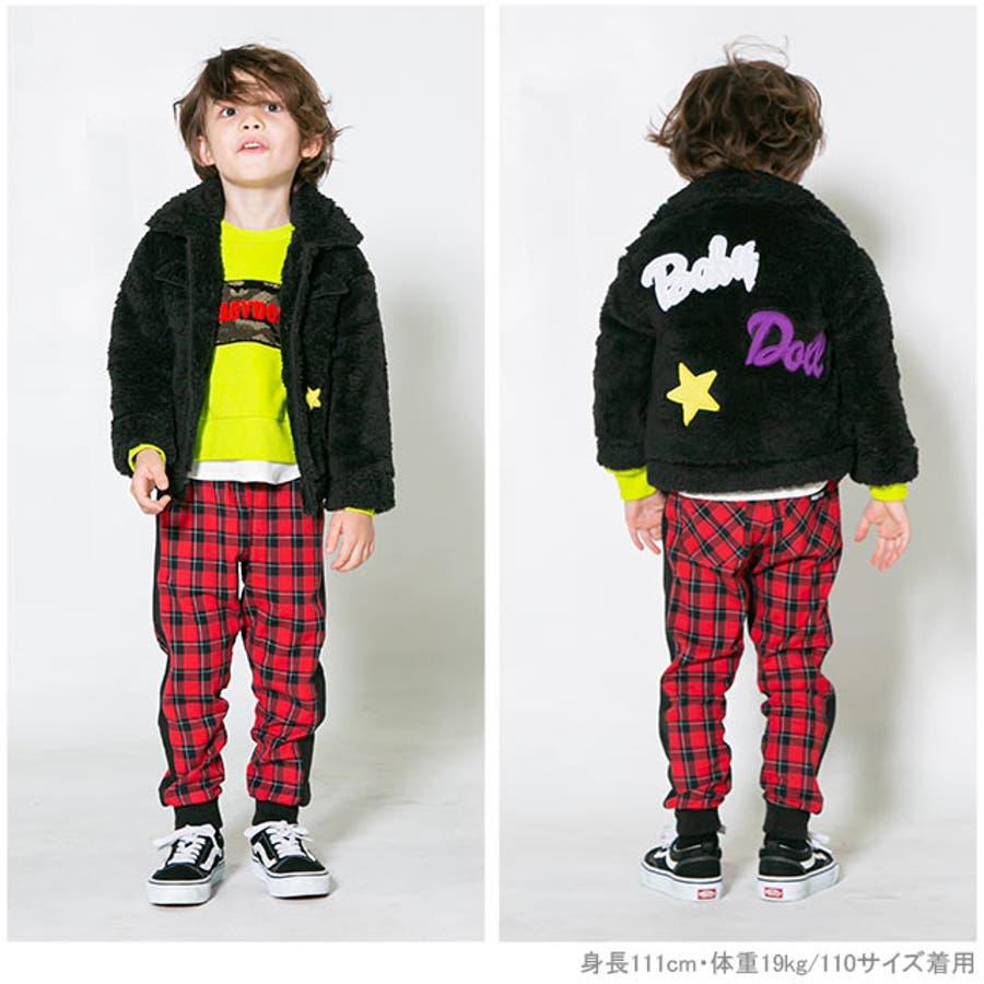 ワッペンシャツ アウター 4542K ベビードール BABYDOLL 子供服ベビー キッズ 女の子 2