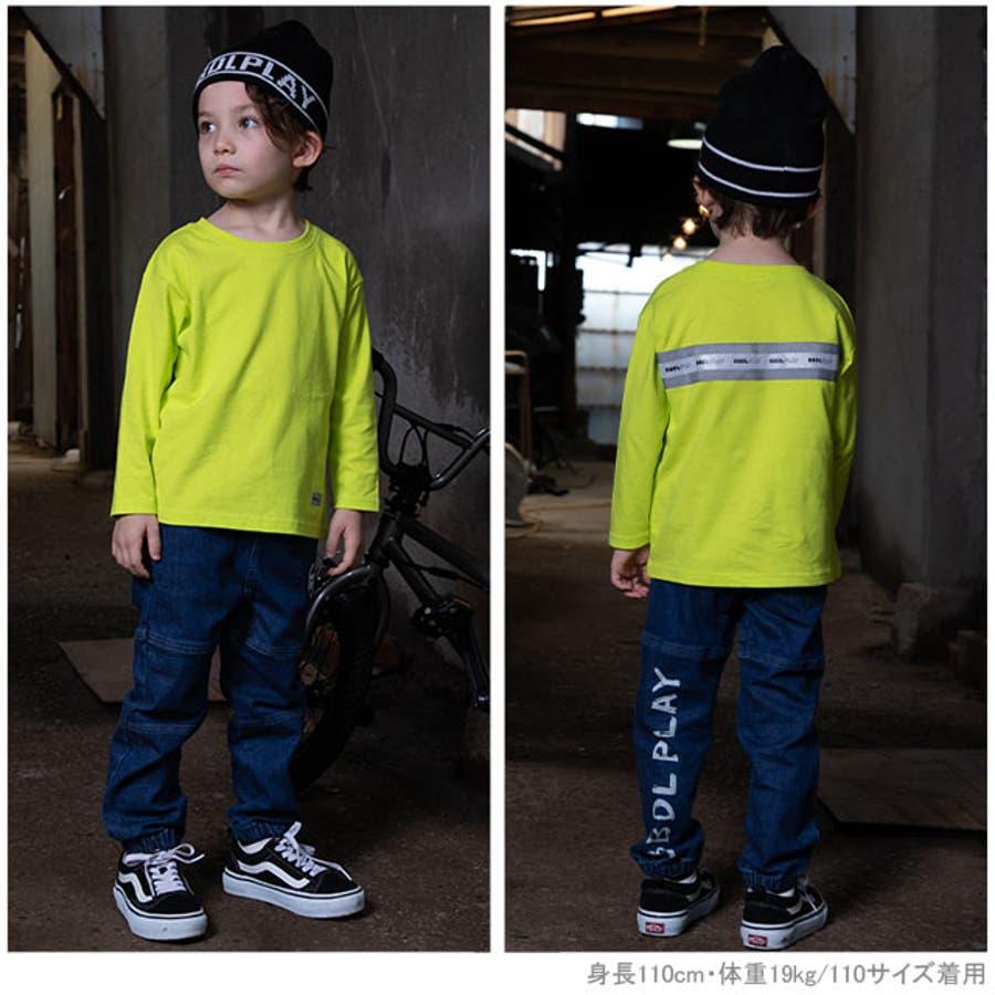 BBDL(ビー・ビー・ディー・エル) ロゴリフレクター ロンT 4551K ベビードール BABYDOLL 子供服 ベビー キッズ男の子 女の子 2