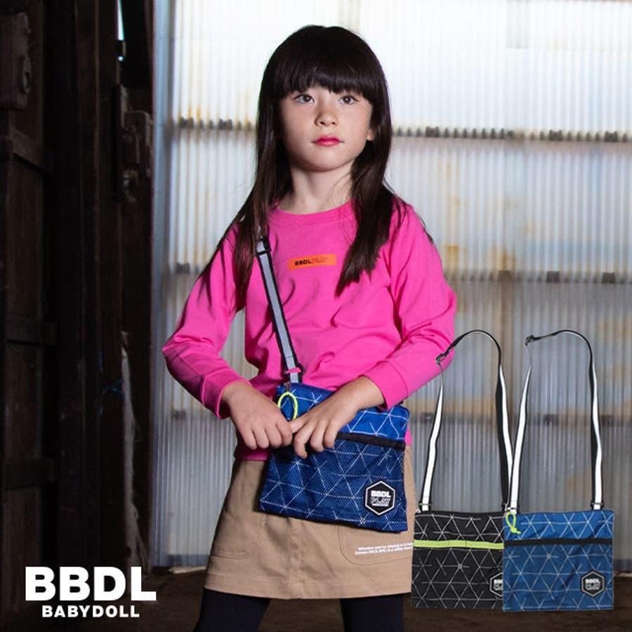 BBDL(ビー・ビー・ディー・エル) サコッシュ 4359 ベビードール BABYDOLL 子供服 ベビー キッズ 男の子 女の子雑貨 1