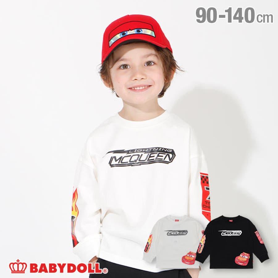 ディズニー 袖95プリント ロンT 4443K ベビードール BABYDOLL 子供服 ベビー キッズ 男の子 女の子DISNEY★Collection 1