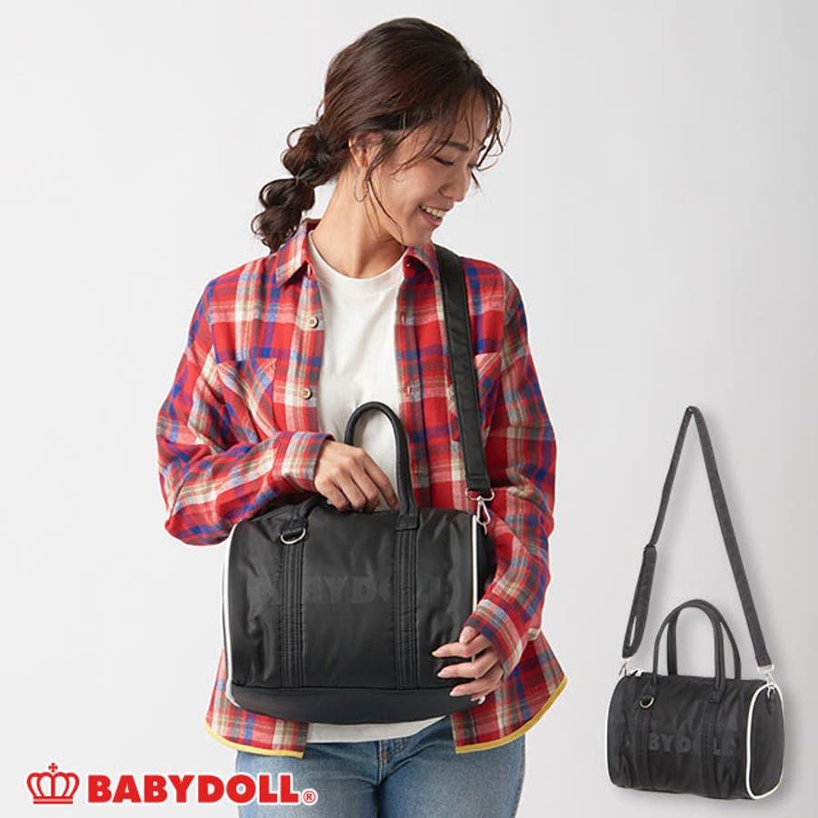 ロゴショルダーバッグ 4464 ベビードール BABYDOLL 子供服 ベビー キッズ 男の子 女の子 鞄 1