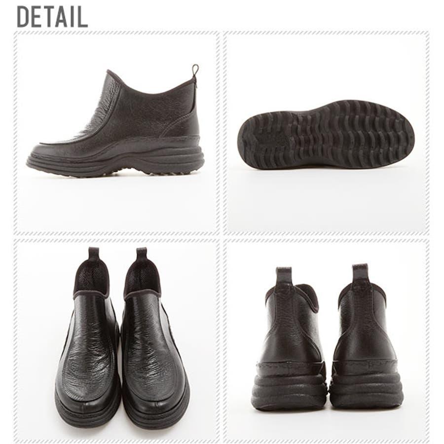 VIC 850 レインシューズ メンズ ニシベケミカル 通販 ショートレインブーツ 雨靴 長靴 ガーデニングブーツ 完全防水軽量日本製 レインブーツ ショート 雪 防寒 2
