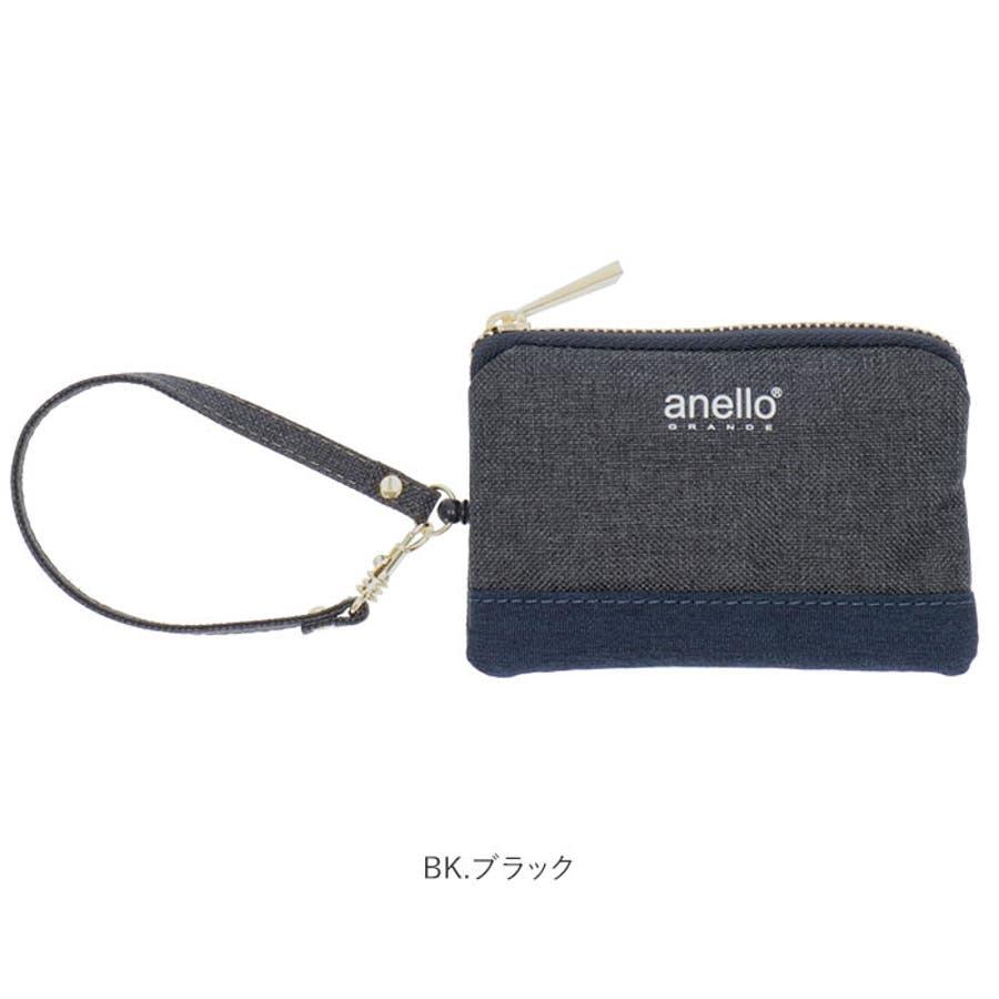 anello GRANDE クラシック杢ポリCC リール付パスポーチ GJ-A0941 10