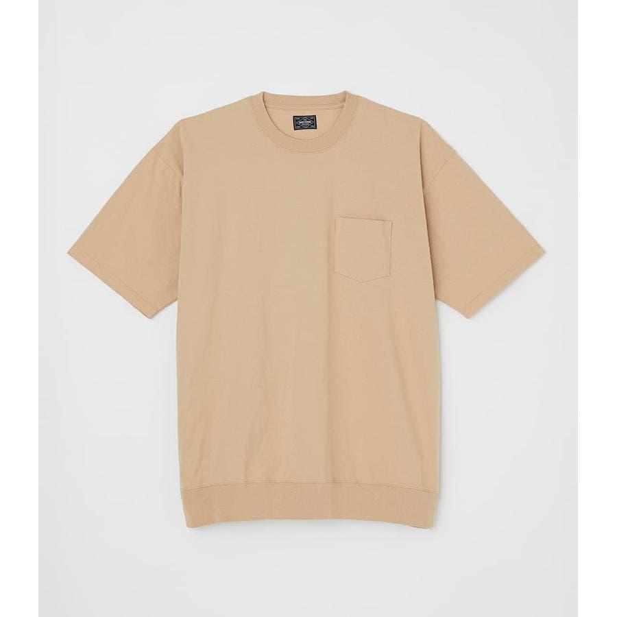 リブロゴポケットTシャツ 41