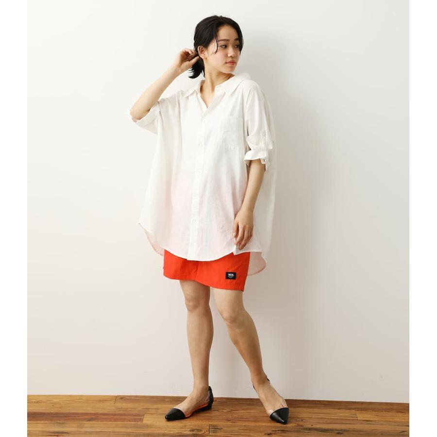 ロールアップリネンシャツ 2